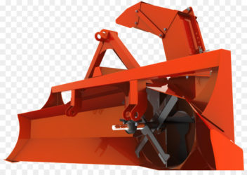 Шнековый снегоуборщик для трактора
