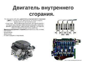 Какие бывают двигатели по виду применяемого топлива?