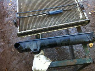 Ремонт радиатора охлаждения двигателя своими руками
