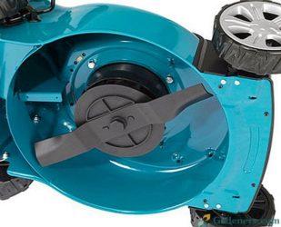 Газонокосилки с асинхронным двигателем и прямым приводом